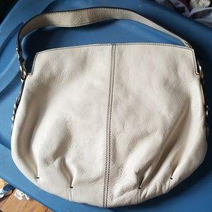 Banana republic leather purse white